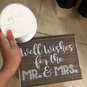 Wedding Advice Box & Advice Cards